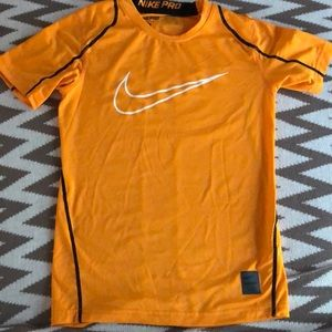 Boy's size small Nike Pro Dri-Fit fitted shirt